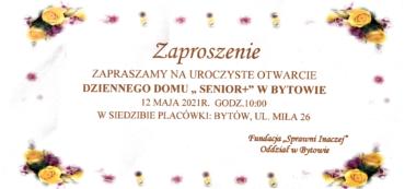 """W Bytowie został uroczyście otworzony Dzienny Dom """"Senior+""""!"""