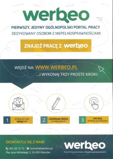 Zapraszamy na werbeo.pl